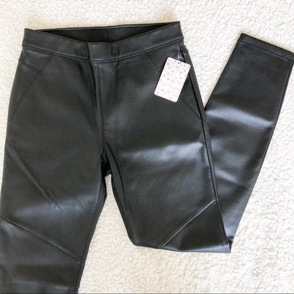 Free People Pants - Free People•faux leather•pants